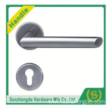 SZD STH-112 Popular Casting Solid Stainless Steel Handle Door Passage Curva Design Lever With High Quality
