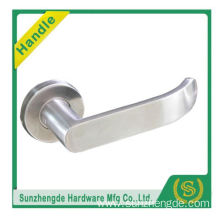 SZD STLH-001 New Design Polished In Stainless Steel Wooden Design Door Handle Lock