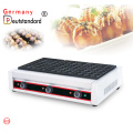 three plates electric fish pellet grill takoyaki
