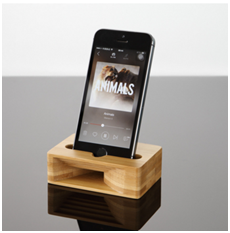 Wooden Electronic Products Holder