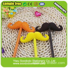 Puzzle Design International Popular Big Mustache Eraser
