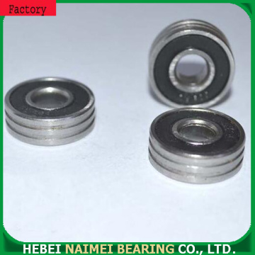 Micro steel bearings 608ZZwith double groove