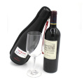 Eco-Friendly wine storage leather carrying case for gift