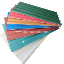 Long-span No-asbestos Heat-proof MgO Corrugated Roof Sheet
