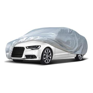 Silver Waterproof Car Cover UV Protection Car Body Cover
