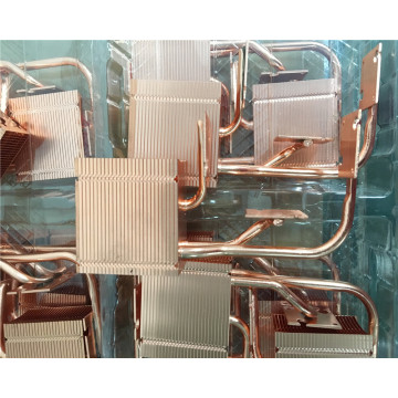 Customized copper pin fin thin heatsink