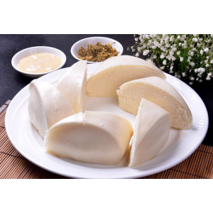 Steamed Bread Stuffed Milk Powder