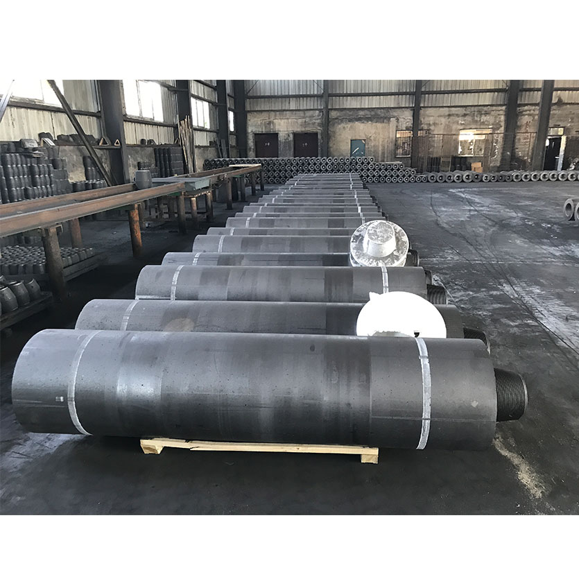 4TPI Nipple UHP 550mm Graphite Electrode for Smelting