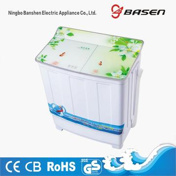 Semi Automatic 7.8KG Glass Cover Washer With Dryer