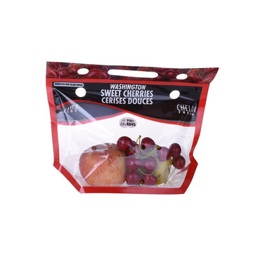 Zipper Plastic Retail Packaging for grape bags