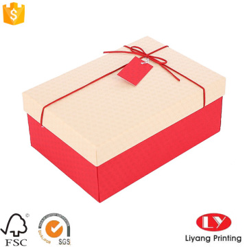 Custom paper large mini gift boxes with lids