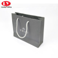 80lb Grey paper craft jewelry paper bags shopping