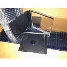 CD Case CD Box CD Cover 10.4mm Single with Black Tray (YP-A102b)