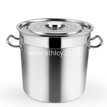 Big Volume Tall Straight-shape Soup Stew Pots