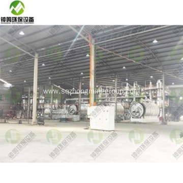 Waste Engine Oil Distillation Process Machine