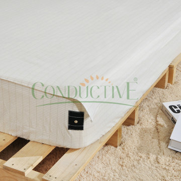 Silver Organic Cotton Material Conductive Sheets