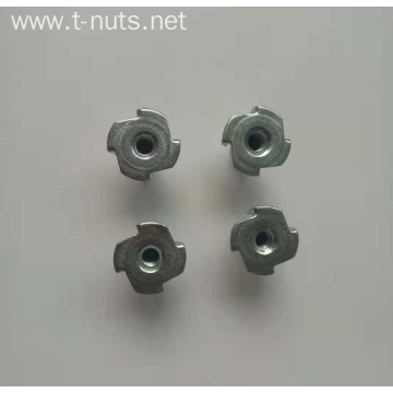 Full thread Disc carbon steel Four claws Nut