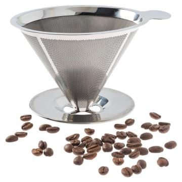304 Stainless Steel Reusable Coffee dripper