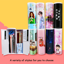 NBX pen box multi-function large-capacity pencil case boys and girls simple Korean version of the kindergarten cute pencil bag K