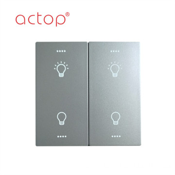 Smart wall switch plastic material
