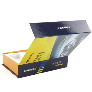 Customized Matt Electronics Packaging Magnetic Paper Box