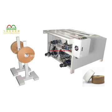 Colored Kraft Paper Rope Making Machine