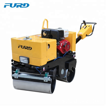 Hand Push Double Drum Walk Behind Vibratory Road Roller For Asphalt FYL-800