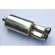 "7.75"" Oval Muffler With Tips"