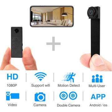 HD 1080P DIY Portable WiFi IP Mini Camera P2P Wireless Micro voice Video Recorder Small sport DV Support Remote View Hidden card