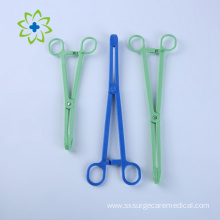 Disposable Plastic Sponge Holder Forceps