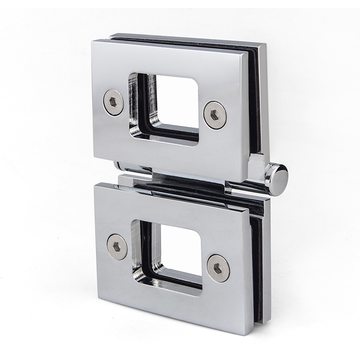 Stainless steel glass door hinge for bathroom door