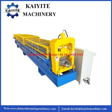 European Standard Half Round Seamless Roof Gutter Machine