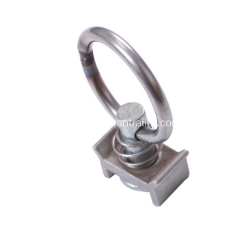Single Stud Track Fitting With Round Ring