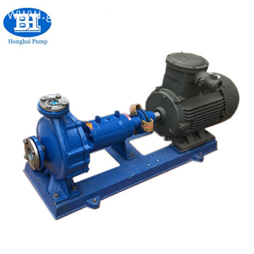 Horizontal high temperature hot oil transfer pump