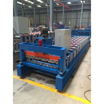 colorful steel plate roll forming machine