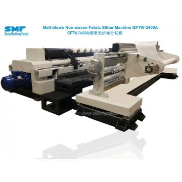 PP meltblown Nonwoven Fabric Slitting Machine