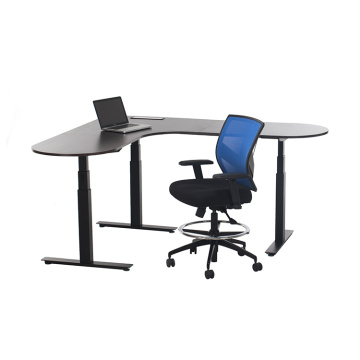 Office Desk L-Shaped Standing Desk