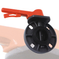 Chemical Industrial UPVC Butterfly Valve EPDM Rubber Ring
