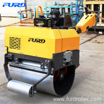 Popular Single Drum Vibratory Roller Compactor for Lawn