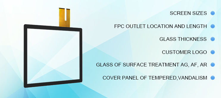 Capacitive Panel Touch Screen