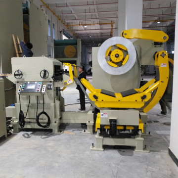 Uncoiler Leveler Feeder for seat belt buckle stamping
