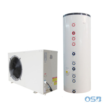 EVI 85 deg C heat pump heater