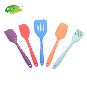 Colorful Silicone Kitchen Utensils Cooking Tools