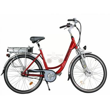 700C 36V 10AH Womens City Electric Bike