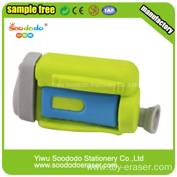 Green Dv Camera Novetly Eraser,Rubber eco-tpr eraser
