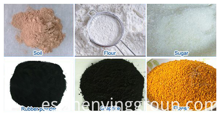 Vibrating sieve application