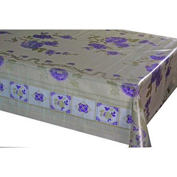 7D Meiwa Printed  blue Tablecloth