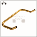 Fixed Gear Bicycle Gold Horn Bar