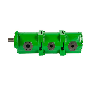 hydraulic triple gear pump