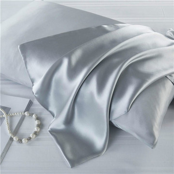 16 Momme Pure Natural Mulberry Silk Zipper 1Pillowcases